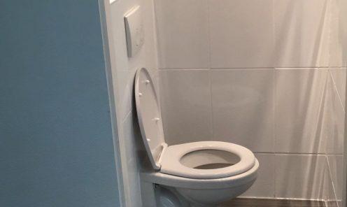 Verbouw toiletruimte