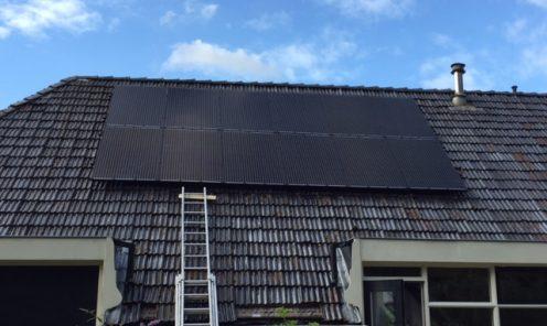 Plaatsen zonnepanelen